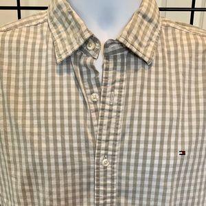 Men's TOMMY HILFIGER L/S Button Down Shirt Large